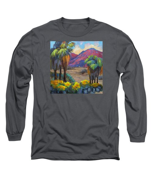 Indian Canyon In Spring Long Sleeve T-Shirt