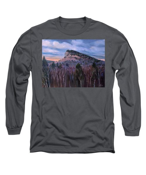 Indian Head In Lincoln New Hampshire Long Sleeve T-Shirt