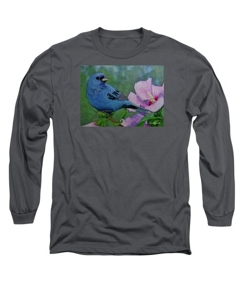 Indigo Bunting No 1 Long Sleeve T-Shirt