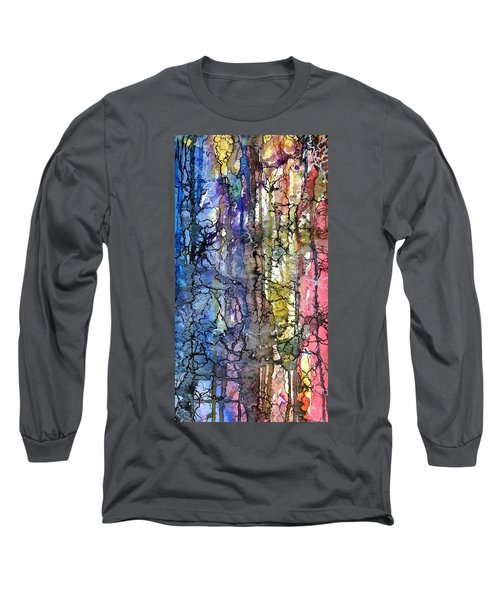 Ink Lines Long Sleeve T-Shirt