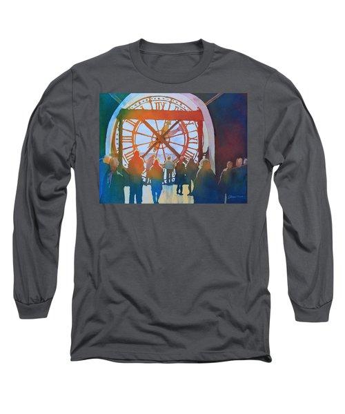 Inside Paris Time Long Sleeve T-Shirt