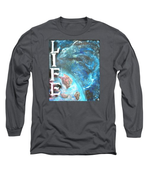 Intelligent Life Long Sleeve T-Shirt