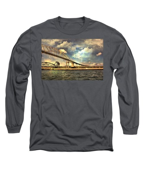International Bridge Sault Ste Marie Long Sleeve T-Shirt