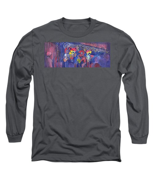 Interstate Stash Express At Oskar Blues In Lyons Co Long Sleeve T-Shirt