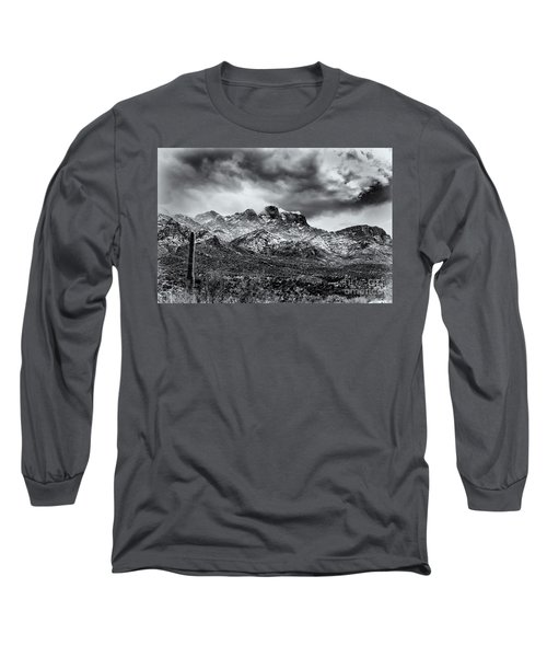 Long Sleeve T-Shirt featuring the photograph Into Clouds by Mark Myhaver