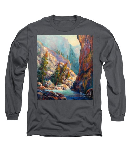 Into The Canyon Long Sleeve T-Shirt