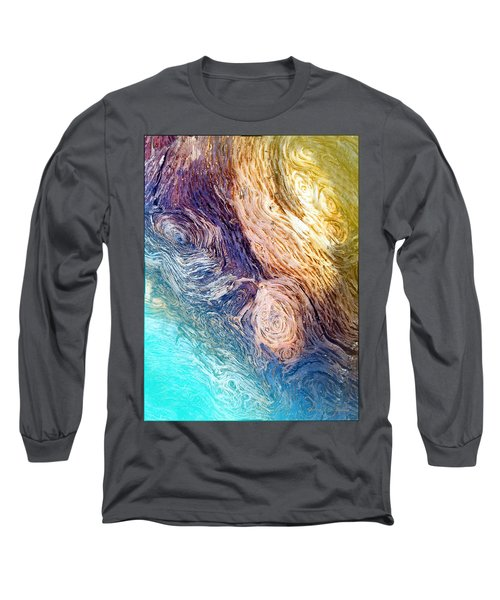 Long Sleeve T-Shirt featuring the photograph Into The Deep by Joyce Dickens