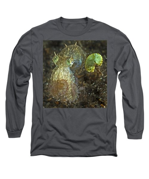 Iridescent Baby Octopus Long Sleeve T-Shirt