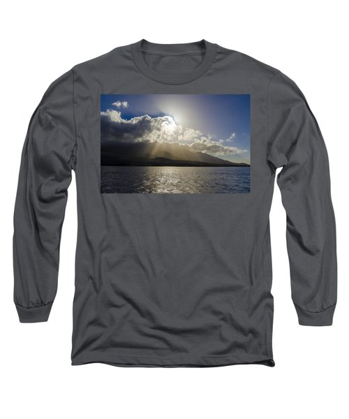Island Sunset Long Sleeve T-Shirt