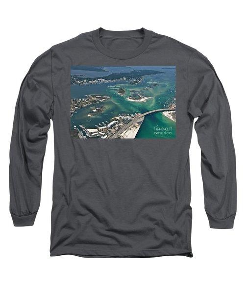 Islands Of Perdido - Labeled Long Sleeve T-Shirt