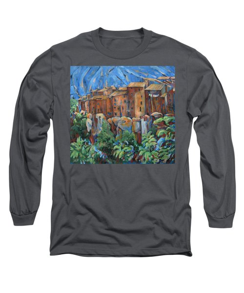 Isola Di Piante Large Italy Long Sleeve T-Shirt