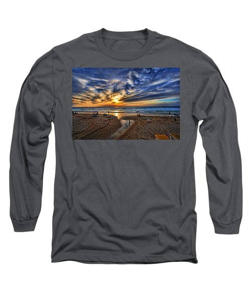 Long Sleeve T-Shirt featuring the photograph Israel Sweet Child In Time by Ron Shoshani