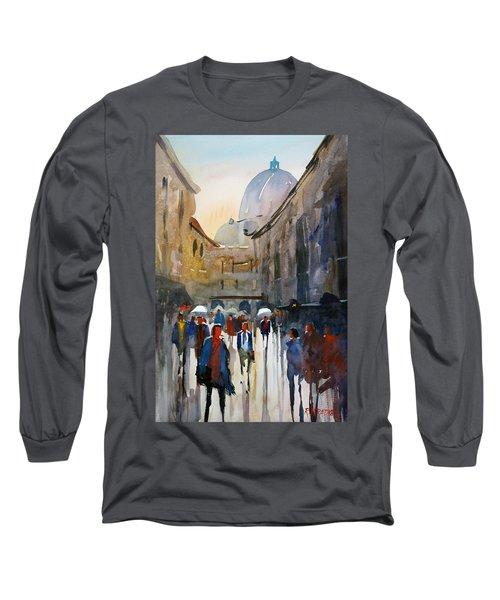 Italian Impressions 5 Long Sleeve T-Shirt by Ryan Radke