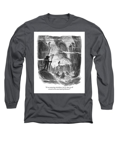 It's An Amazing Coincidence Long Sleeve T-Shirt