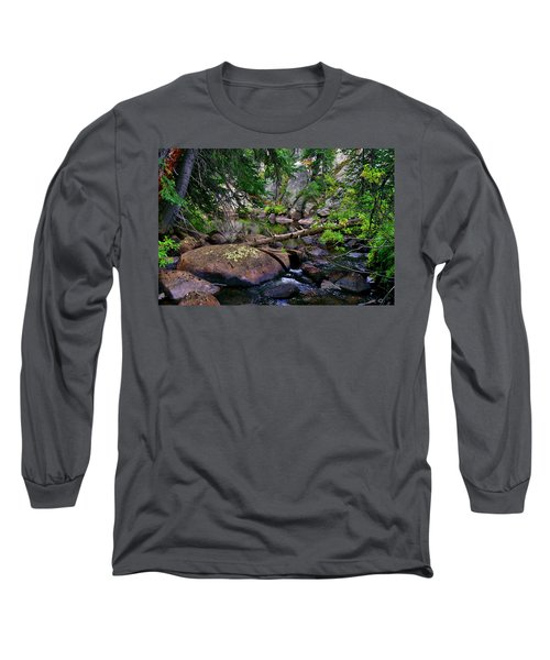 Long Sleeve T-Shirt featuring the photograph Ivanhoe Serenity by Jeremy Rhoades
