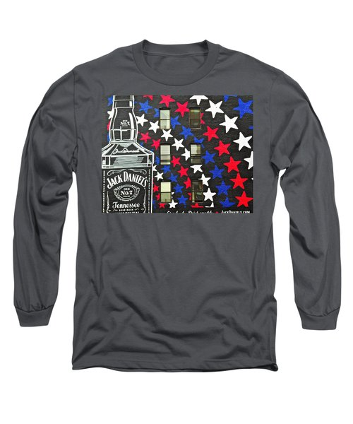 Long Sleeve T-Shirt featuring the photograph Jack Daniel's Wall Art by Joan Reese