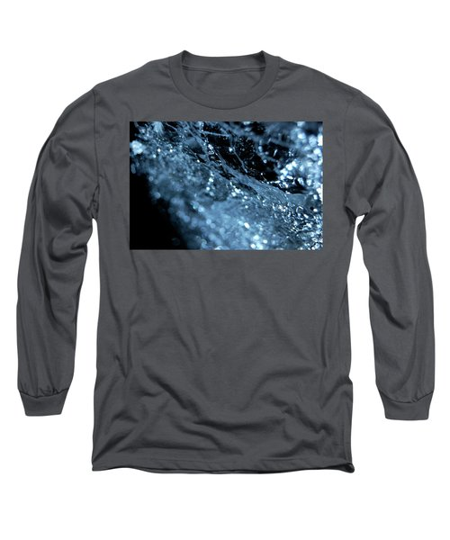 Long Sleeve T-Shirt featuring the photograph Jammer Abstract 006 by First Star Art