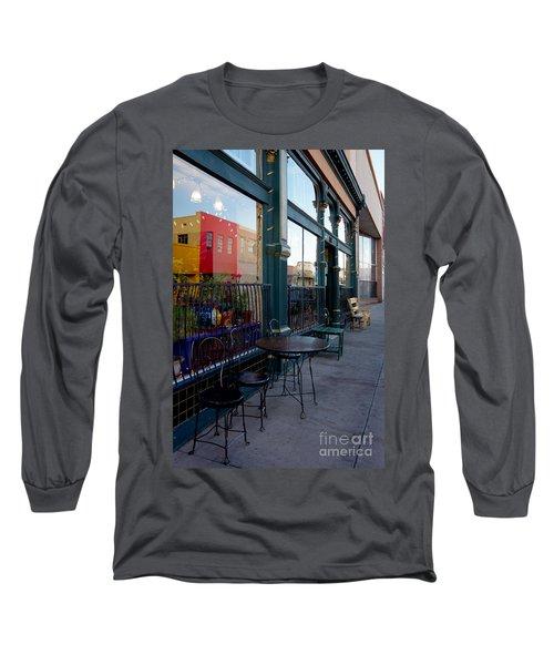 Java Time Long Sleeve T-Shirt by Vicki Pelham