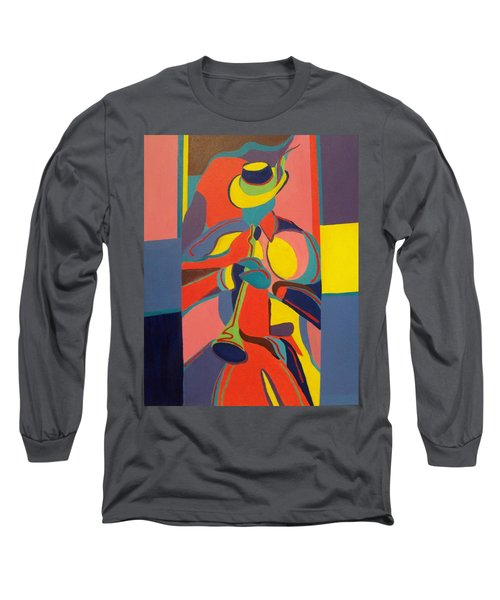 Jazzamatazz Horn Long Sleeve T-Shirt