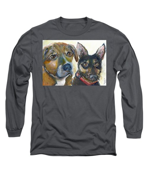 Jena And Dozer  Long Sleeve T-Shirt