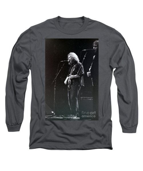 Grateful Dead -  In And Out Of The Garden  Long Sleeve T-Shirt by Susan Carella