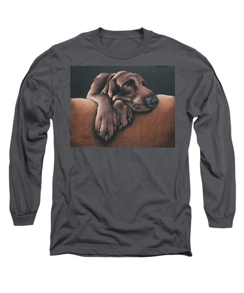Long Sleeve T-Shirt featuring the pastel Jethro by Cynthia House