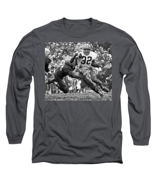 Jim Brown #32 Long Sleeve T-Shirt