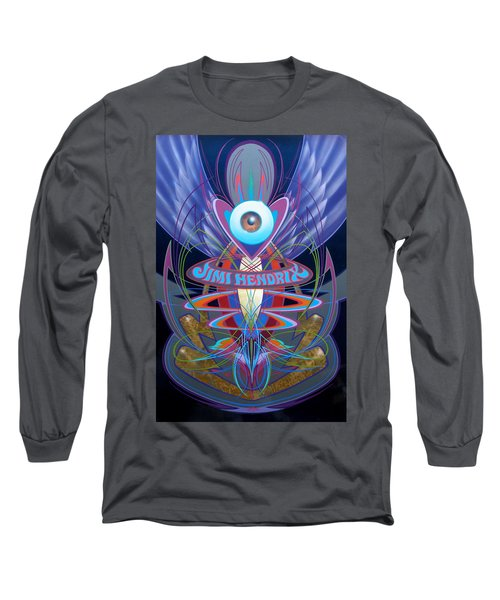 Jimi Hendrix Memorial Long Sleeve T-Shirt