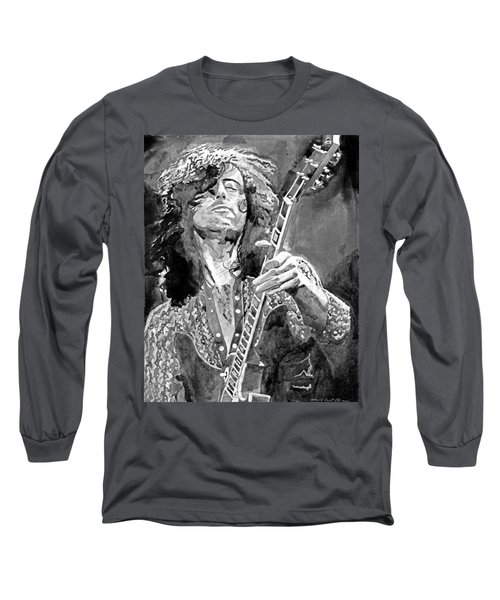 Jimmy Page Mono Long Sleeve T-Shirt