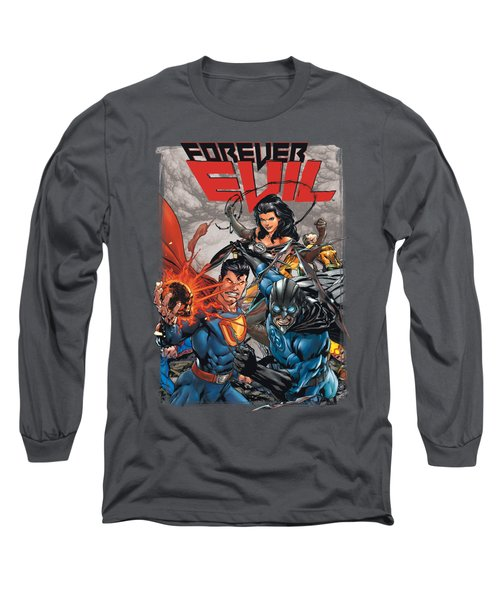 Jla - Crime Syndicate Long Sleeve T-Shirt