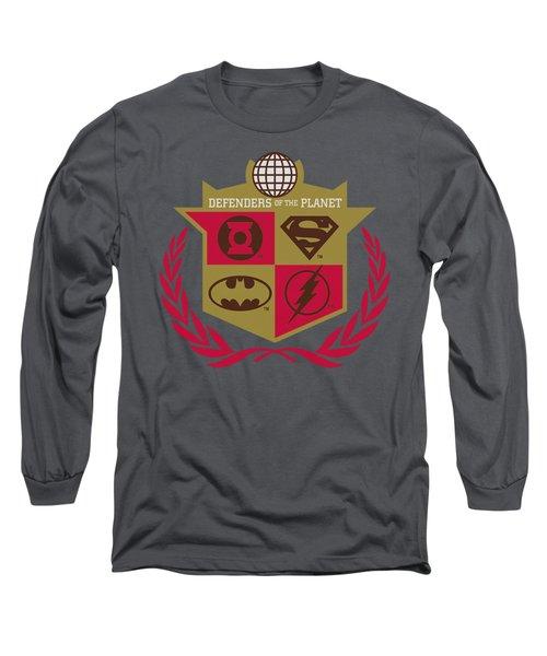 Jla - Defenders Long Sleeve T-Shirt