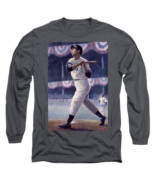 Joe Dimaggio Long Sleeve T-Shirt