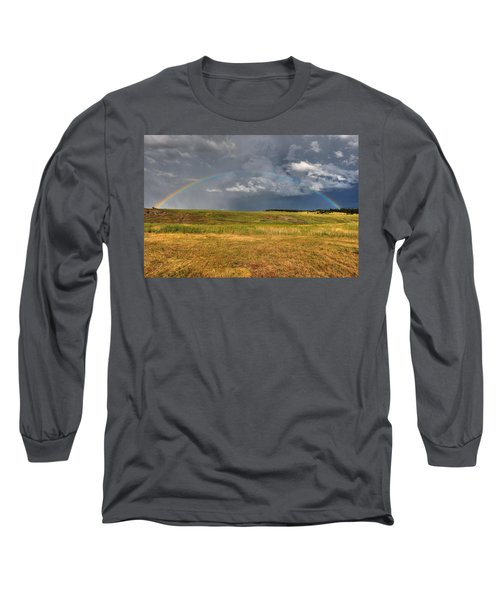 John Deer At The End Of The Rainbow Long Sleeve T-Shirt