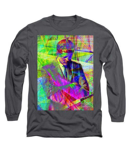 John Fitzgerald Kennedy Jfk In Abstract 20130610v2 Long Sleeve T-Shirt