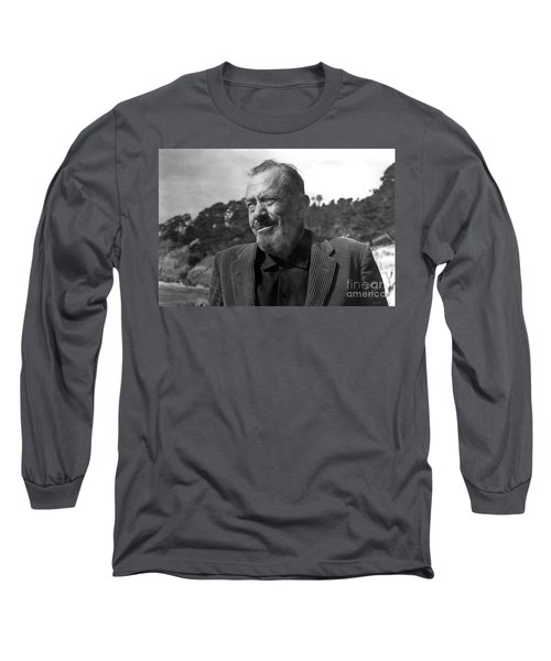 John Steinbeck Pebble Beach, Monterey, California 1960 Long Sleeve T-Shirt