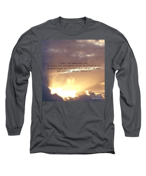 Joshua 1 Long Sleeve T-Shirt
