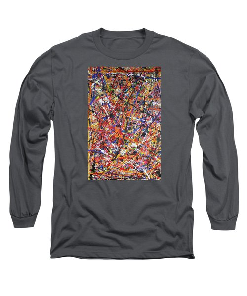 Long Sleeve T-Shirt featuring the painting JP by Michael Cross