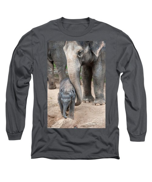 Jumbo Love Long Sleeve T-Shirt by Ray Warren