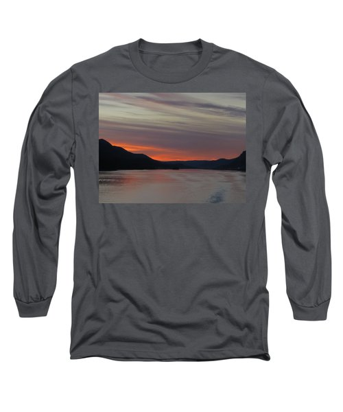Juneau Alaska Long Sleeve T-Shirt by Jennifer Wheatley Wolf