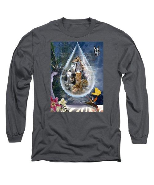 Jungle Drop Long Sleeve T-Shirt