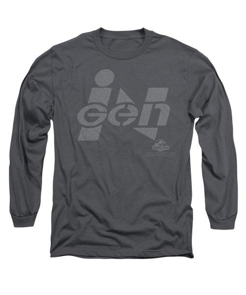 Jurassic Park - Ingen Logo Long Sleeve T-Shirt