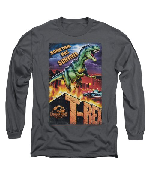 Jurassic Park - Rex In The City Long Sleeve T-Shirt by Brand A