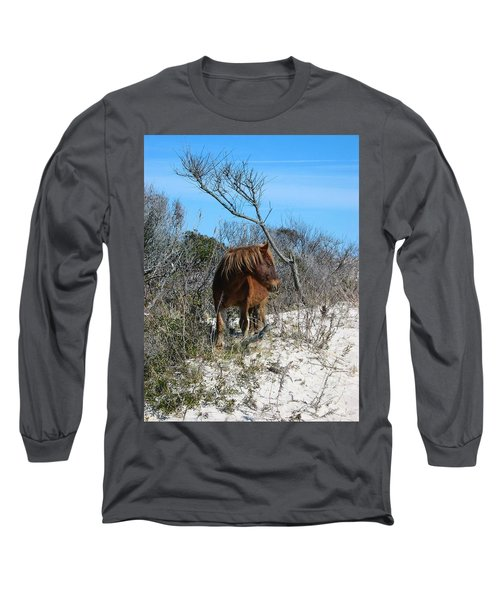 Just Another Day At The Beach Long Sleeve T-Shirt by Photographic Arts And Design Studio