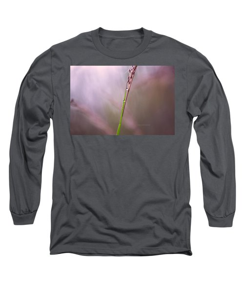 Long Sleeve T-Shirt featuring the photograph Just Few Drops by Rima Biswas