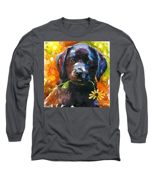 Just Picked Long Sleeve T-Shirt by Molly Poole