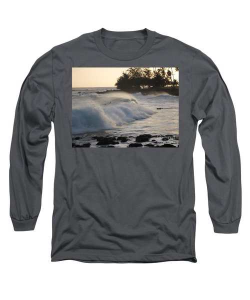 Kauai - Brenecke Beach Surf Long Sleeve T-Shirt