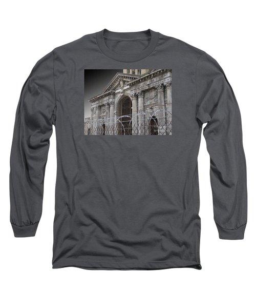 Keep Out Long Sleeve T-Shirt by Ann Horn
