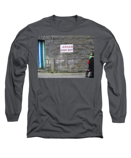 Keep Out Aran Islands Ireland Long Sleeve T-Shirt
