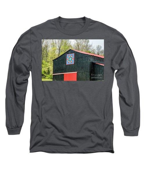 Kentucky Barn Quilt - 2 Long Sleeve T-Shirt