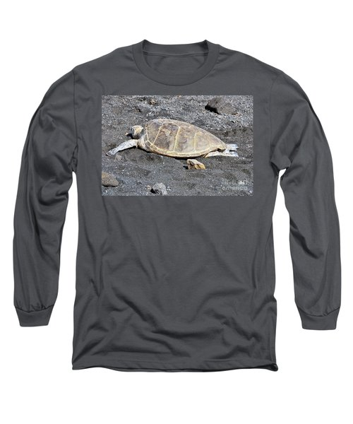 Kickin' Back Long Sleeve T-Shirt by David Lawson